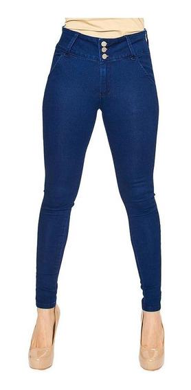 Jeans Para Mujer Casuales Incógnita Stone Alto Skinny