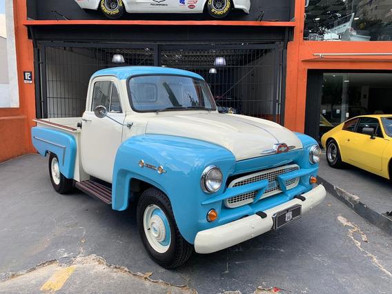 1961 Chevrolet Brasil 3100 6 Cilindros Muito Nova