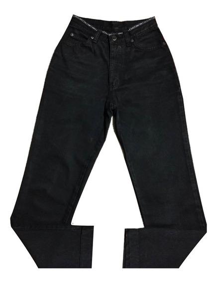 Calça Jeans Zoomp Feminina 38 Preta Oferta Única Original