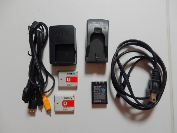 Carregador Sony Dsc Wx1 Carregador Olympus D590