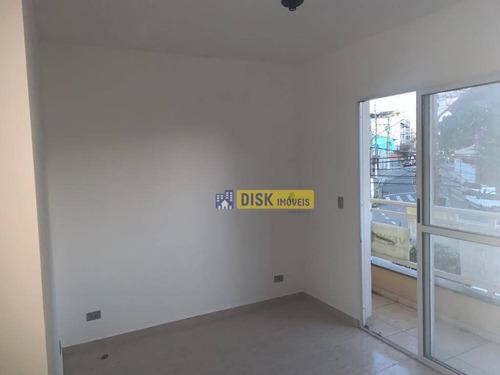 Imagem 1 de 7 de Apartamento Com 2 Dormitórios À Venda, 50 M² Por R$ 260.000 - Baeta Neves - São Bernardo Do Campo/sp - Ap2272