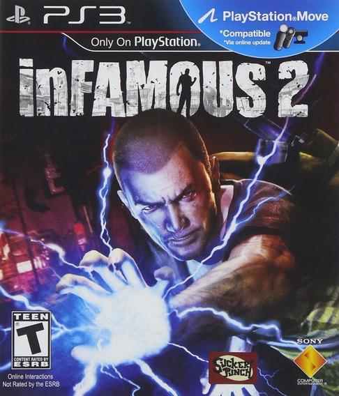 Infamous 2, Playstation 3, Ps3, Novo, Lacrado, Importado!