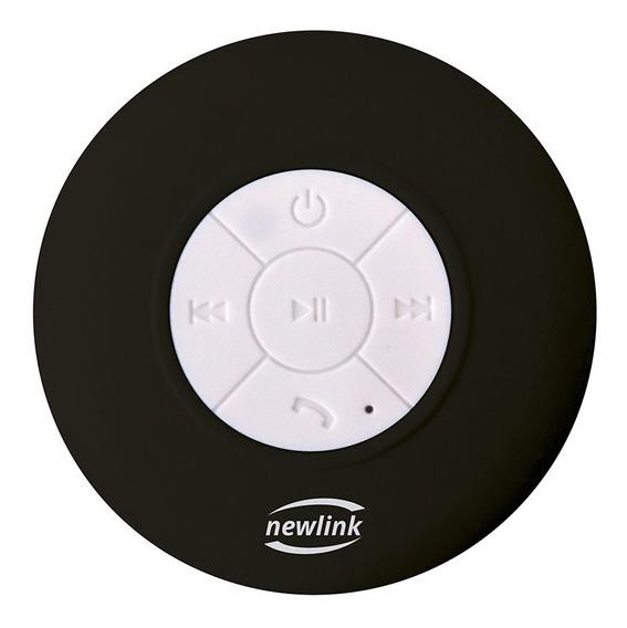 Caixa De Som Bluetooth Speaker Bubble Preto Sp109 Newlink