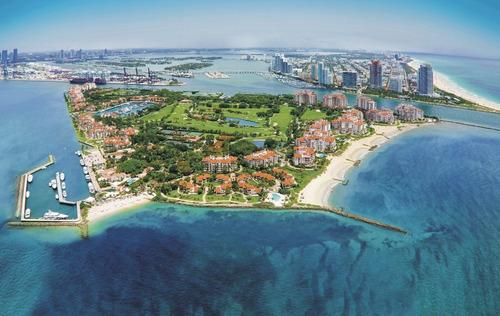 Super Lançamento Alto Padrão Em Miami Localizado Na Fisher Island, Palazzo Della Luna, Cobertura Penthouse, 7 Suites Com 3714 M2 De Area Privativa - Ap01320 - 33755344