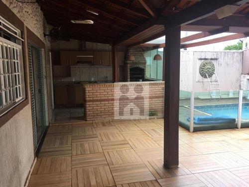 Imagem 1 de 19 de Casa Com 3 Dormitórios Com Suíte À Venda, 180 M² Por R$ 440.000 - Residencial E Comercial Palmares - Ribeirão Preto/sp - Ca0917