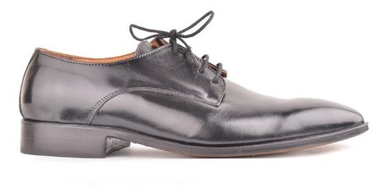 Zapatos De Hombre Vestir De Cuero Y Charol Adam - Ferraro -