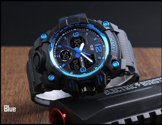 Relógio Skmei Super Resistente Shock Original Aprova De Água