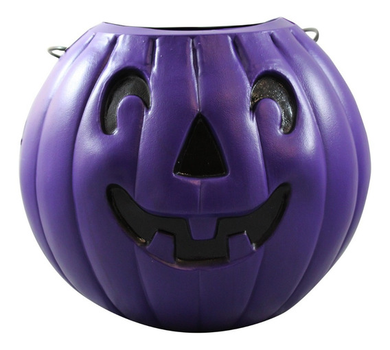 Calabaza Morada Para Halloween Grande
