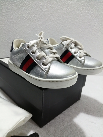 Sneakers Gucci Kids Talla 21 A 24 Meses