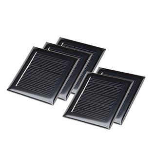 Uxcell 5pcs 4 V 50 Ma Poly Módulo Mini Célula Panel Solar Di