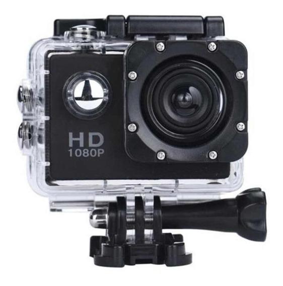 Action Câmera Filmadora Hd 1080p Go Sports Prova D´agua