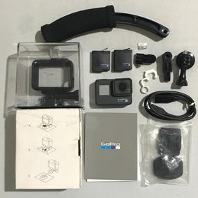 Camera Gopro Hero 6 Black 4k + Acessorios Completa Ac Trocas