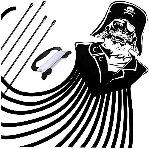 Pirata Para Niños Y Adultos Mejor Principiante Cometa Fácil