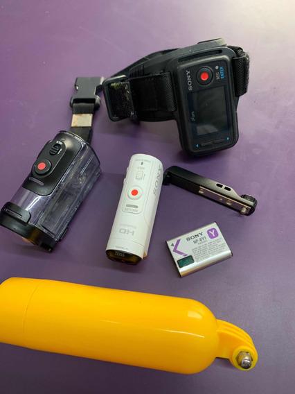 Câmera Go Pro Sony Hdr-az1 Original Completa Com Relogio