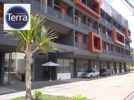 Sala À Venda, 40 M² Por R$ 295.000 - Vianna Espaços Modulares - Granja Viana. - Sa0067