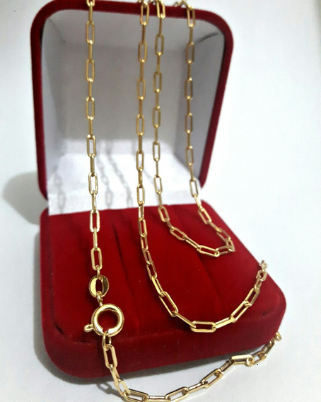Cordão Cartier Banhado À Ouro 18k Pingente De Brinde