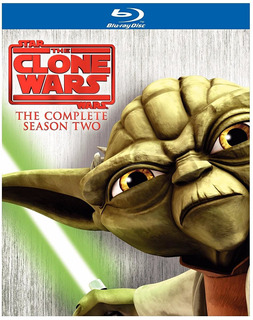 Blu-ray Star Wars The Clone Wars Season 2 / Temporada 2