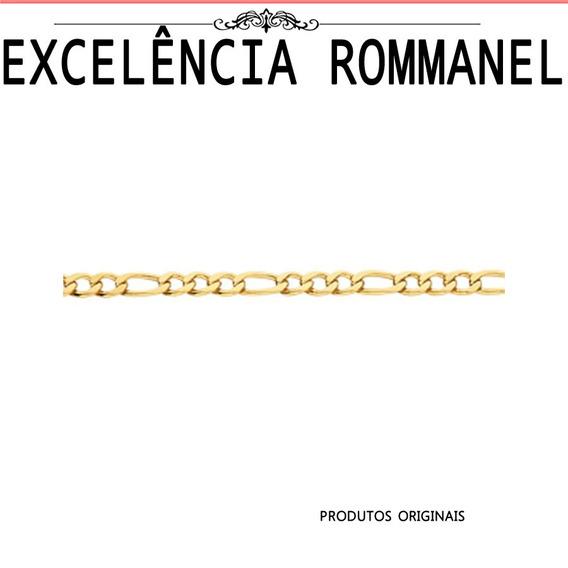 Pulseira Rommanel Masculina 4mm Elo 3x1 550047