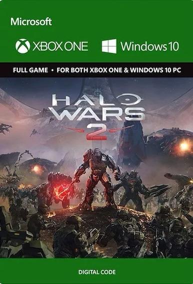 Halo Wars 2 - Xbox One E Windows 10 - Codigo 25 Digitos