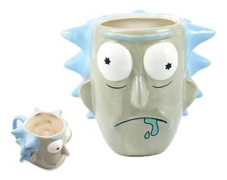 Taza De Ceramica Rick And Morty
