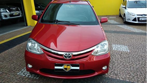 Toyota Etios Hatch Xls 1.5 2013 Unico Dono Top De Linha