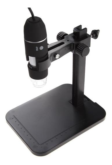 Microscopio De 1000x Conexión Usb Y Soporte De Elevación