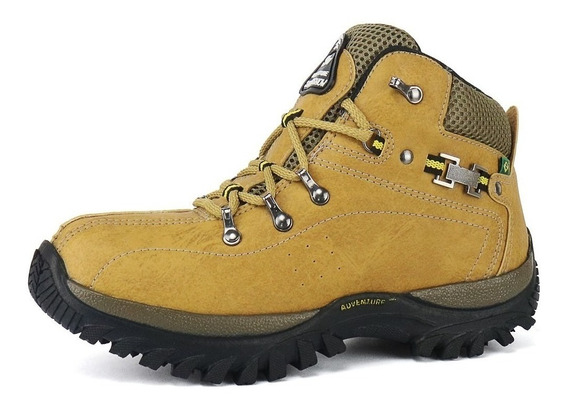 Tênis Masculino Bota Boot Adventure Sola De Borracha