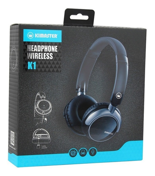 Headphone Bluetooth Kimaster K1
