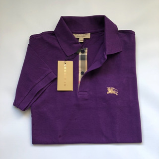 Camisa Polo Masculina Burberry