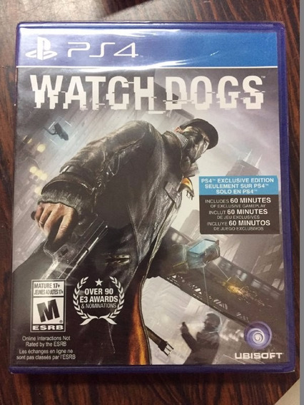 Jogo Ps4 Whatch Dogs - Lacrado