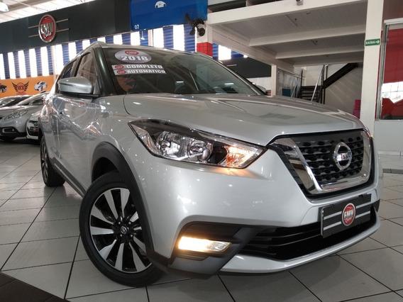 Nissan Kicks 1.6 Sv Cvt 2018 - Prata