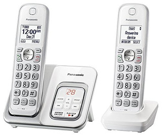 Panasonic Kx-tgd532w - Teléfono Inalámbrico Con Contador Au