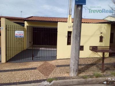 Casa Com 3 Dormitórios Para Alugar Por R$ 1.650/mês - Jardim Panorama - Valinhos/sp - Ca1676