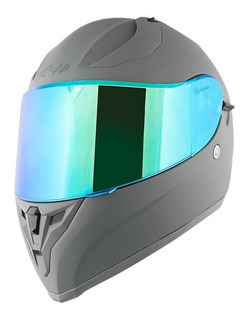 Casco Joe Rocket Rkt 14 Gris Iridio / 2 Micas