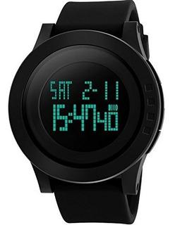 Aposon Hombres Deportes Digital Reloj De Pulsera Pantalla Le