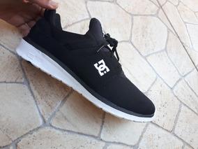 Tênis Dc Shoes Heathrow Masculino - Preto E Branco