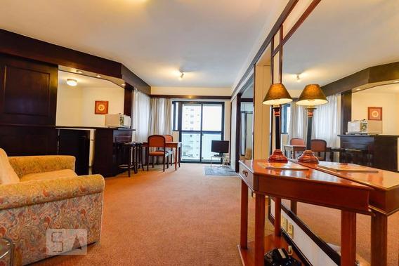 Apartamento No 13º Andar Com 1 Dormitório E 1 Garagem - Id: 892951570 - 251570