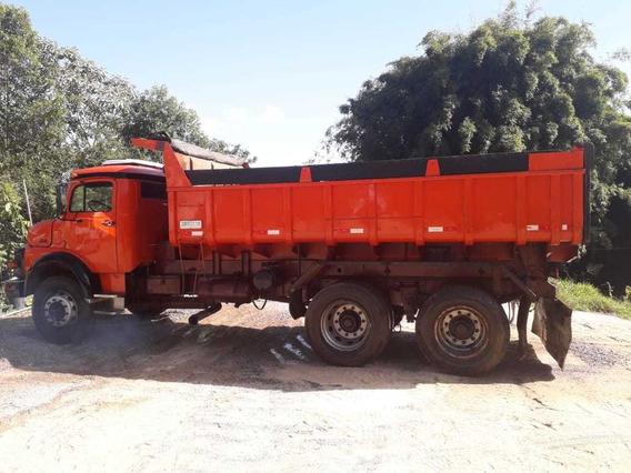 Mb 1313 Caçamba Basculante Truck Ano 1982