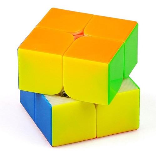 Cubo Mágico 2x2x2 Yuxin Little Magic Colorido Em Estoque