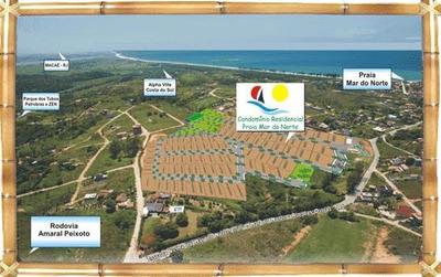 Terreno Residencial À Venda, Mar Do Norte, Rio Das Ostras. - Codigo: Te0390 - Te0390