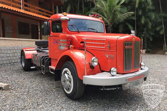Scania-vabis L75 1958 58 - Raro - Original - Caminhão Antigo