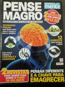 Revista Segredos Da Mente Pense Magro - Ano 3 N°4 - 2016