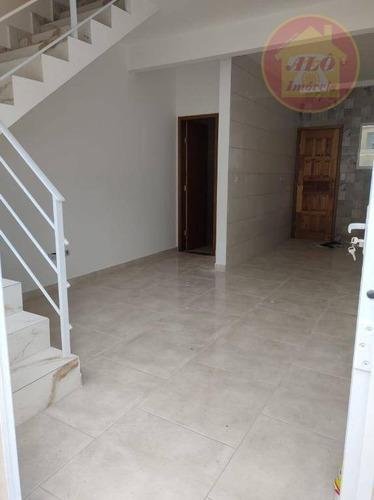 Sobrado Com 2 Dormitórios À Venda, 51 M² Por R$ 180.000,00 - Princesa - Praia Grande/sp - So0671