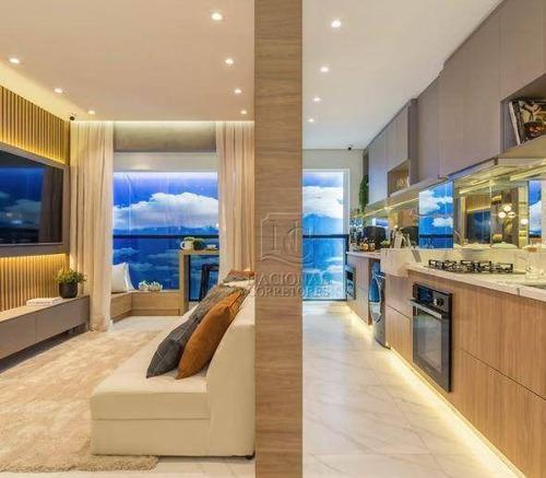 Imagem 1 de 30 de Apartamento Com 2 Dormitórios À Venda, 61 M² Por R$ 445.000,00 - Campestre - Santo André/sp - Ap12231