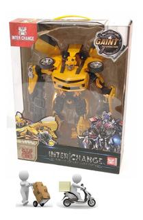 Transformers Inter Change Auto Juguete Pacho