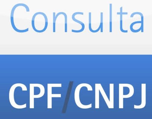 Consulta De Cpf E Cnpj, Consulta Score,consulta Telefone!