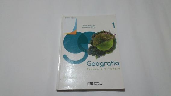 Livro Geografia Espaço E Vivencia Volume 1