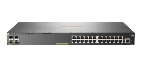 Switch Hp 2930f 24g Poe+ 4sfp 24 Puertos 10/100/1000 Jl26 Mg