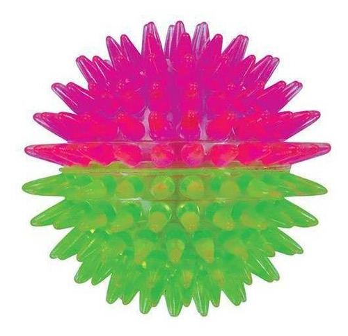 Imagem 1 de 1 de Brinquedo De Cachorro Bola Espinho Dual Color Pequena Jambo