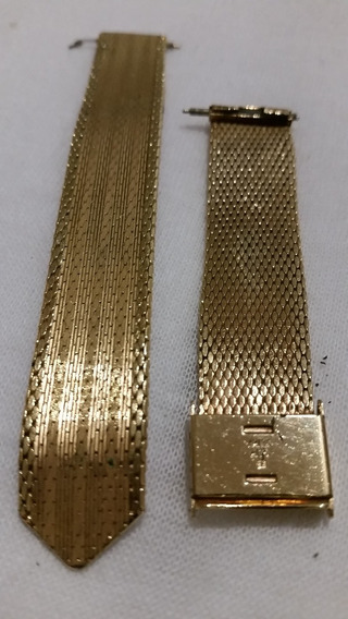 Pulseira,bracelete Para Relogio.en Ouro,malha,mesch,milanesa